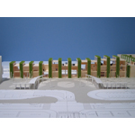 駅舎コンペ模型